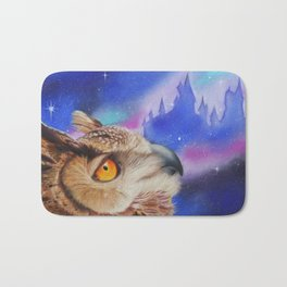 Dreaming of the Owlery Bath Mat