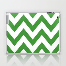 MEAN GREEN CHEVRON Laptop & iPad Skin