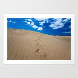 Dunes of Gran Canaria Art Print