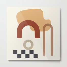// Shape study #23 Metal Print