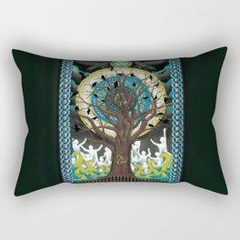 Ode to Odin Rectangular Pillow