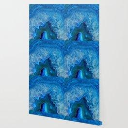 Blue Agate Wallpaper