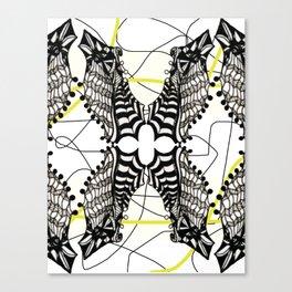 peguins Canvas Print