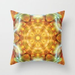 Flower of Life Mandalas 16 Throw Pillow