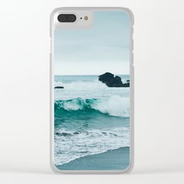 Pacific Ocean Clear iPhone Case