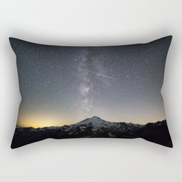 Perseid Meteor Shower Rectangular Pillow