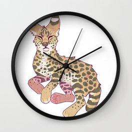 Serval Wall Clock