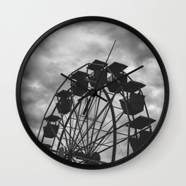 Meloncholy Midway Wall Clock