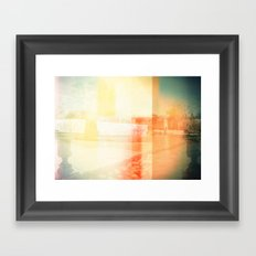 El Retiro Park (Madrid) Framed Art Print