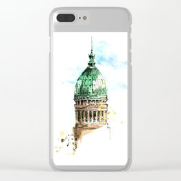 Architecture Argentine Clear iPhone Case
