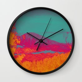 Acid & Energy Landscape Wall Clock