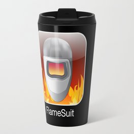iPocalypse: Flame Suit Travel Mug