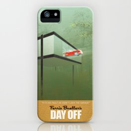 """""""You killed the car"""" - Ferris Bueller's Day Off iPhone Case"""