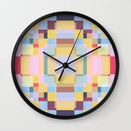 Retro Taniwha Wall Clock