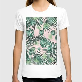Tropical Jungle Leaves Garden #2 #tropical #decor #art #society6 T-shirt