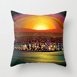 La Paz Throw Pillow