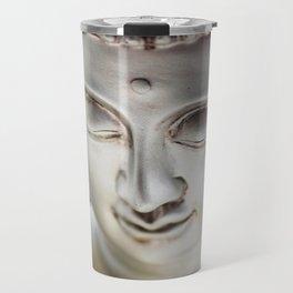 Silver Buddha head Travel Mug