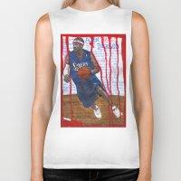 nba Biker Tanks featuring NBA PLAYERS - Allen Iverson by Ibbanez