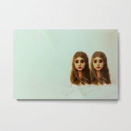 Be Like Your Twin Metal Print