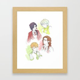 DRAMAtical Boyfrans Framed Art Print