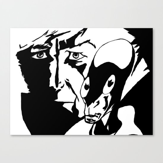 DSC08059 - Dr Who meets UFO cropped Canvas Print
