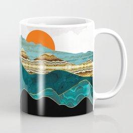 Turquoise Vista Coffee Mug