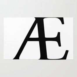 AE (Æ) Symbol Rug