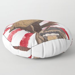 Ronin Samurai Floor Pillow