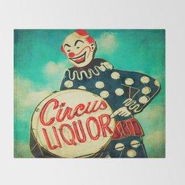 Circus Liquor, N. Hollywood, CA. Throw Blanket