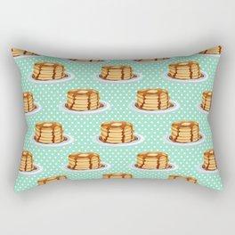 Pancakes & Dots Pattern Rectangular Pillow