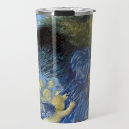 Night with her Train of Stars by Edward Robert Hughes Travel Mug