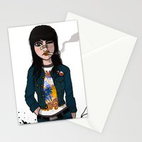 Rock Chick Stationery Cards