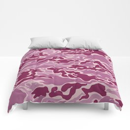 Pink Army Comforters
