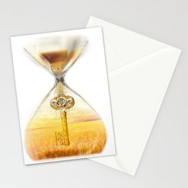 Harvest Key Stationery Cards