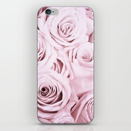 Pink Roses Flowers - Rose and flower pattern iPhone Skin