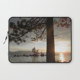 Lake Tahoe sunset Laptop Sleeve