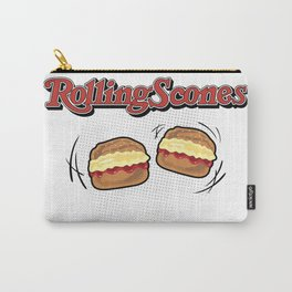 The Rolling Scones: scones and stones! Carry-All Pouch