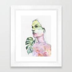 viridescent Framed Art Print