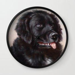 The Newfoundland Dog - Carl Reichert Wall Clock