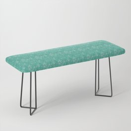 Floral Freeze Mint Bench