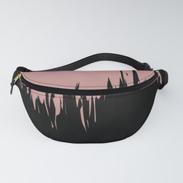 Dusty Pink Paint Fanny Pack