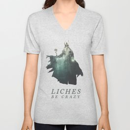 Lich (Typography) Unisex V-Neck