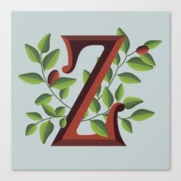 Letter 'Z' is for Ziziphus Canvas Print