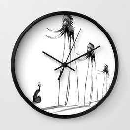 Rise of The Mammoths Wall Clock