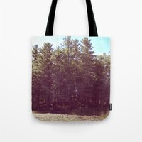 manchester Tote Bags featuring Manchester Swamps by katarjana