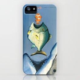 Fish Bait iPhone Case