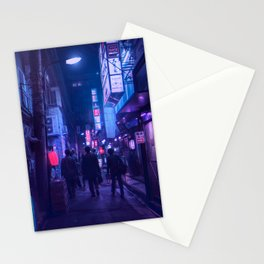 Tokyo Nights / One Minute To Midnight / Liam Wong Stationery Cards