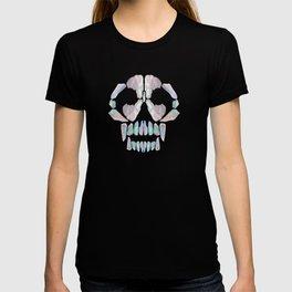 Aurora Quartz Skull T-shirt