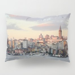 Sunset in Istanbul  Pillow Sham