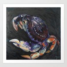Dungeness Crab Art Print